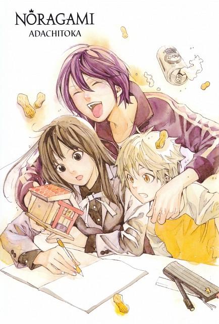 Toka Adachi, Noragami, Yato (Noragami), Yukine (Noragami), Hiyori Iki