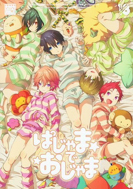 Kyoto Animation, Free!, Haruka Nanase (Free!), Kisumi Shigino, Ikuya Kirishima