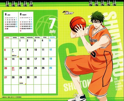 Tadatoshi Fujimaki, Production I.G, Kuroko no Basket, Kuroko No Basket Calendar 2014, Shintarou Midorima