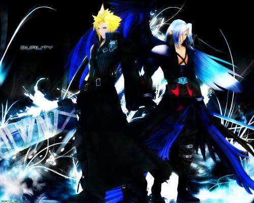 Square Enix, Final Fantasy VII: Advent Children, Final Fantasy VII, Sephiroth, Cloud Strife Wallpaper