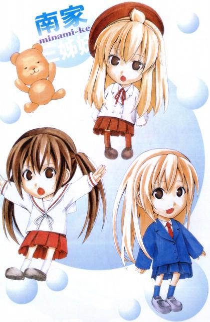 Koharu Sakuraba, Minami-ke, Haruka Minami (Minami-ke), Kana Minami , Chiaki Minami