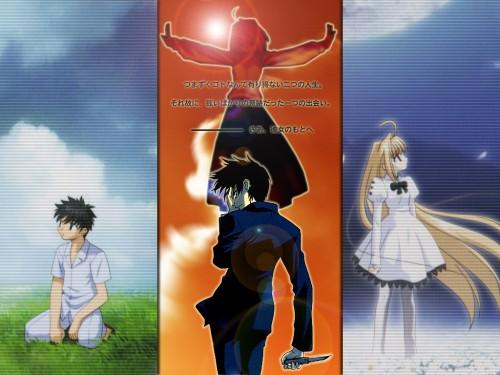 TYPE-MOON, Melty Blood, Shingetsutan Tsukihime, Shiki Tohno, Arcueid Brunestud Wallpaper