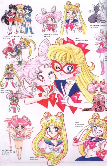 Naoko Takeuchi, Bishoujo Senshi Sailor Moon, BSSM Original Picture Collection Vol. V, Eternal Sailor Moon, Luna