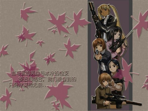 Madhouse, Gunslinger Girl, Triela, Angelica (Gunslinger Girl), Claes Wallpaper
