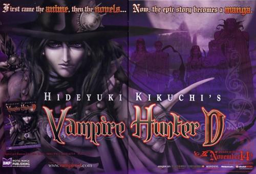Saiko Takaki, Madhouse, Vampire Hunter D, D (Vampire Hunter D), Doris Lang