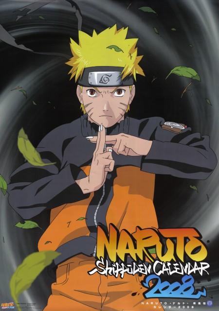 Studio Pierrot, Naruto, Naruto Kyuubi Mode, Calendar