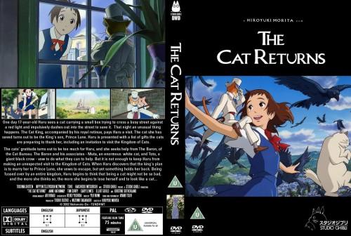 Studio Ghibli, The Cat Returns, Haru Yoshioka, Muta, Baron Humbert Von Gikkingen