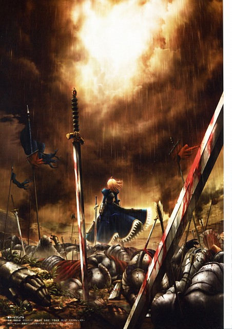 Ufotable, TYPE-MOON, Fate/Zero, Fate/zero Animation Visual Guide I, Saber