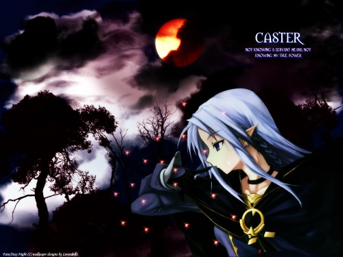 Missing Link, TYPE-MOON, Fate/stay night, Caster (Fate/stay night) Wallpaper