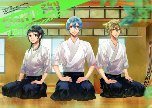 Kazuaki, Starry Sky Official Guide Complete Edition ~Summer Stories~, Starry Sky, Azusa Kinose, Homare Kanakubo