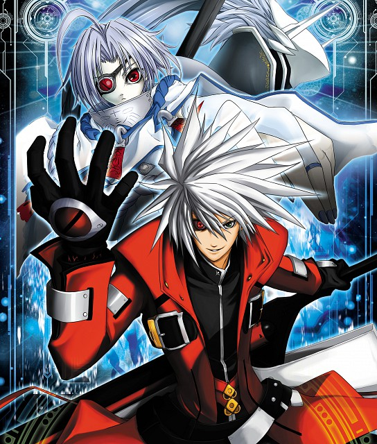 Blazblue Material Setting Collection, Blazblue, Nu-13, Ragna the Bloodedge, Hakumen
