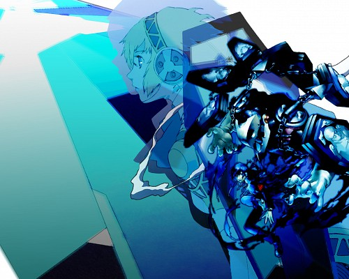 Shigenori Soejima, Atlus, Shin Megami Tensei: Persona 3, Thanatos, Aegis Wallpaper