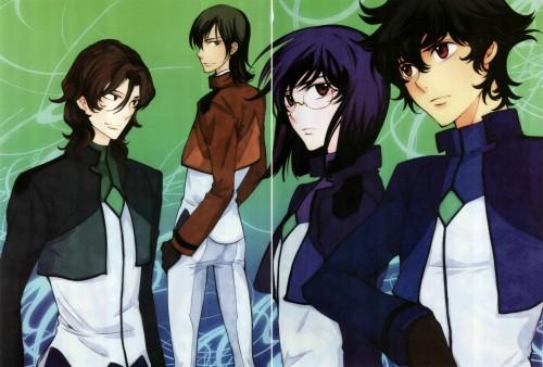 Yun Kouga, Mobile Suit Gundam 00, Gundam 00 Yun Kouga: Dear Meisters Comic & Arts, Lockon Stratos, Allelujah Haptism