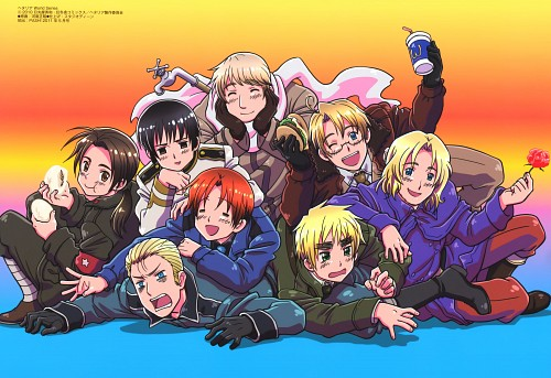 Hidekaz Himaruya, Studio DEEN, Hetalia: Axis Powers, China, Russia