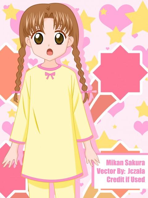 Gakuen Alice, Mikan Sakura, Vector Art