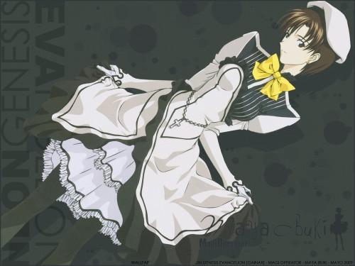 Neon Genesis Evangelion, Maya Ibuki Wallpaper