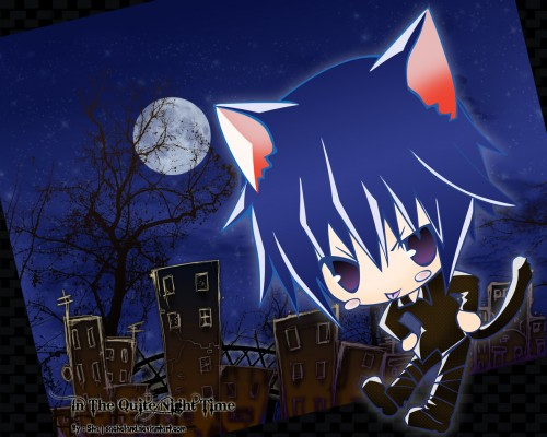 Peach-Pit, Satelight, Shugo Chara, Ikuto Tsukiyomi Wallpaper
