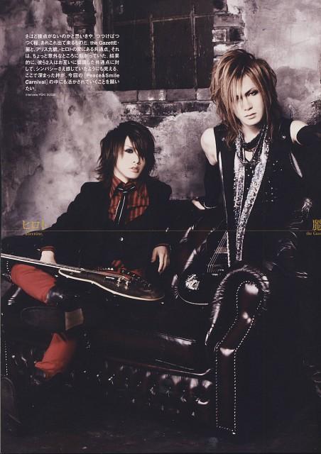 Hiroto, Alice Nine, Gazette, Uruha