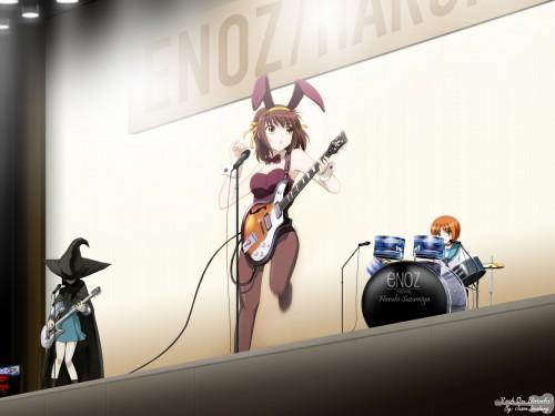 Noizi Ito, Kyoto Animation, The Melancholy of Suzumiya Haruhi, Mikuru Asahina, Yuki Nagato Wallpaper