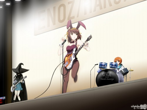 Noizi Ito, Kyoto Animation, The Melancholy of Suzumiya Haruhi, Haruhi Suzumiya, Mikuru Asahina Wallpaper