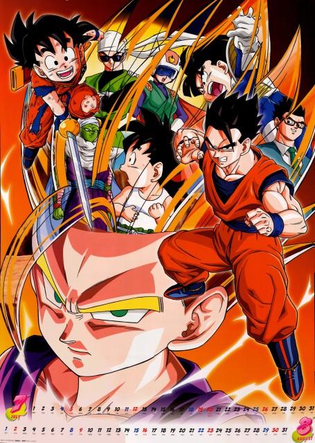 Akira Toriyama, Toei Animation, Dragon Ball, Son Gohan, Super Saiyan Gohan