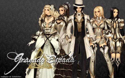IMC Games, Granado Espada, Wizard (Granado Espada), Fighter (Granado Espada), Musketeer (Granado Espada) Wallpaper