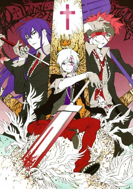 Katsura Hoshino, D Gray-Man, Noche - D.Gray-man Illustrations, Allen Walker, Yu Kanda