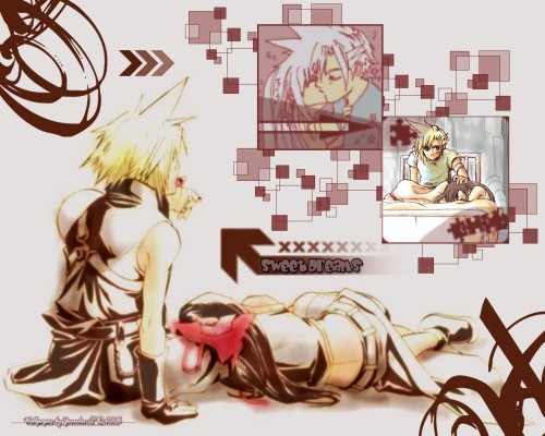 Square Enix, Final Fantasy VII, Tifa Lockhart, Cloud Strife Wallpaper