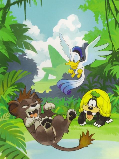 Shiro Amano, Kingdom Hearts, Goofy, Donald Duck, Sora