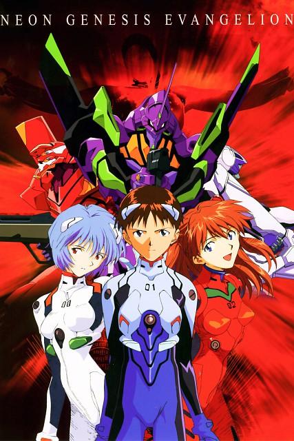 Yoshiyuki Sadamoto, Gainax, Neon Genesis Evangelion, Asuka Langley Soryu, Unit-02