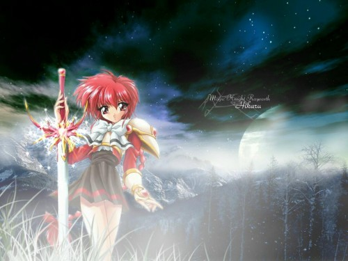 Magic Knight Rayearth, Hikaru Shidou, Doujinshi Wallpaper
