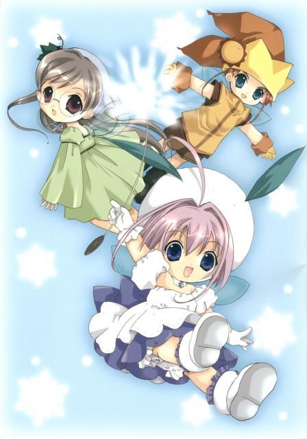 Koge Donbo, A Little Snow Fairy Sugar, Sugar (A Little Snow Fairy Sugar), Pepper (A Little Snow Fairy Sugar), Salt (A Little Snow Fairy Sugar)