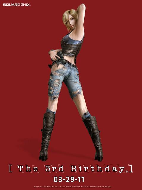 Square Enix, Parasite Eve, Aya Brea, Postcard