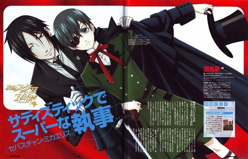 A-1 Pictures, Kuroshitsuji, Sebastian Michaelis, Ciel Phantomhive, Newtype Magazine