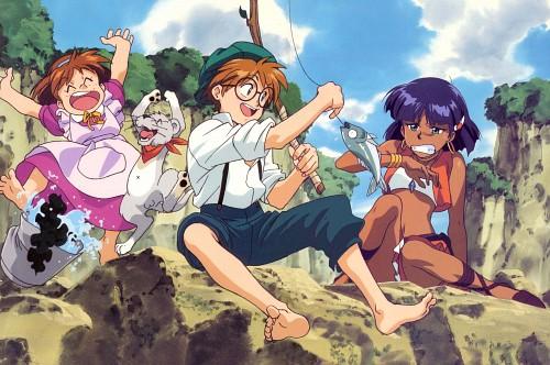 Yoshiyuki Sadamoto, Nadia: The Secret of Blue Water, Jean Roque Raltique, Nadia La Arwall
