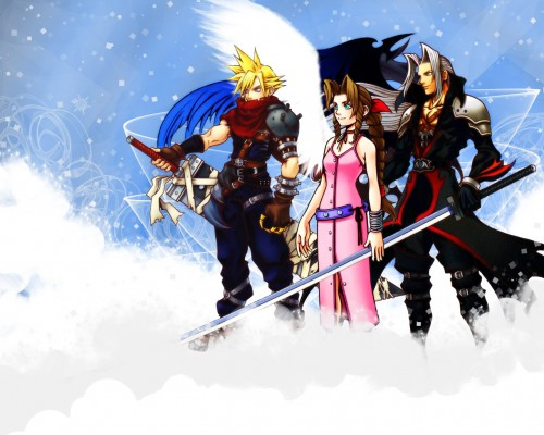 Square Enix, Final Fantasy VII: Advent Children, Kingdom Hearts, Final Fantasy VII, Aerith Gainsborough Wallpaper
