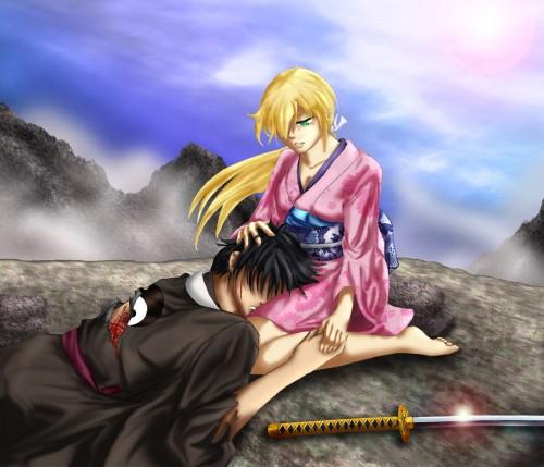 Studio DEEN, Samurai Deeper Kyo, Yuya Shiina, Demon Eyes Kyo, Member Art