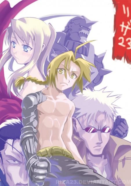 Hiromu Arakawa, BONES, Fullmetal Alchemist, Edward Elric, Winry Rockbell