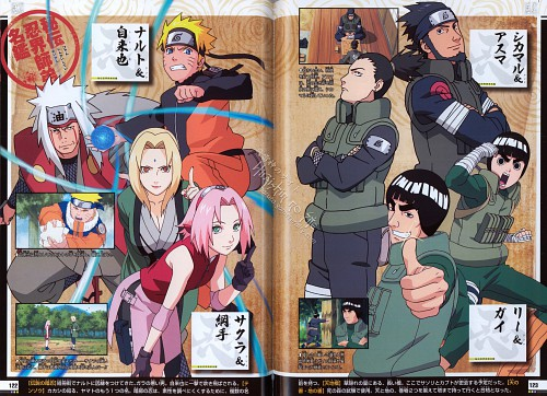 Studio Pierrot, Naruto, Naruto Juunen Hyakunin, Naruto Uzumaki, Asuma Sarutobi