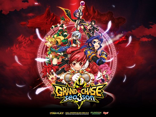 Grand Chase, Elesis, Amy (Grand Chase), Lire, Ercnard Sieghart