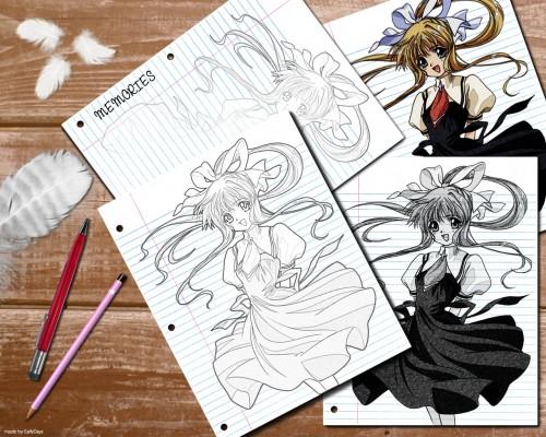 Akemi Kobayashi, Key (Studio), Air, Misuzu Kamio Wallpaper