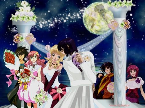 Sunrise (Studio), Mobile Suit Gundam SEED Destiny, Cagalli Yula Athha, Kira Yamato, Athrun Zala Wallpaper