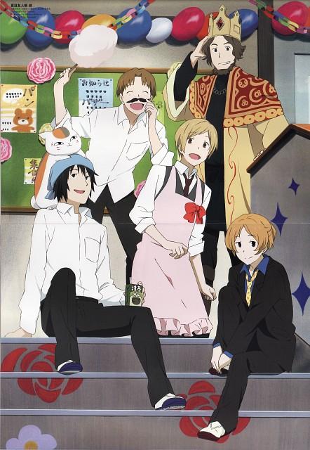 Yuki Midorikawa, Brains Base, Natsume Yuujin-Chou, Nyanko-sensei, Tooru Taki