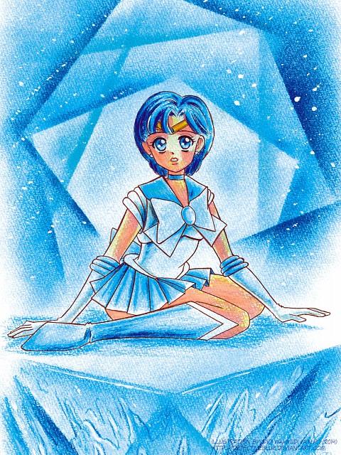 Toei Animation, Bishoujo Senshi Sailor Moon, Sailor Mercury, Member Art