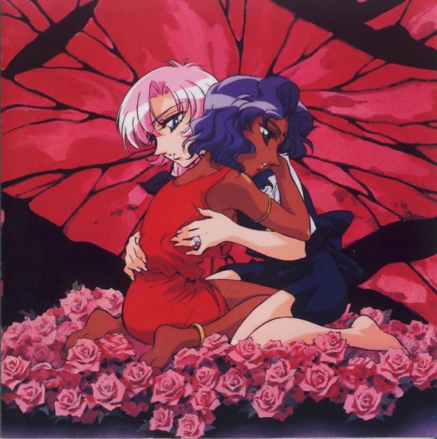 Chiho Saito, Shoujo Kakumei Utena, Anthy Himemiya, Utena Tenjou, DVD Cover