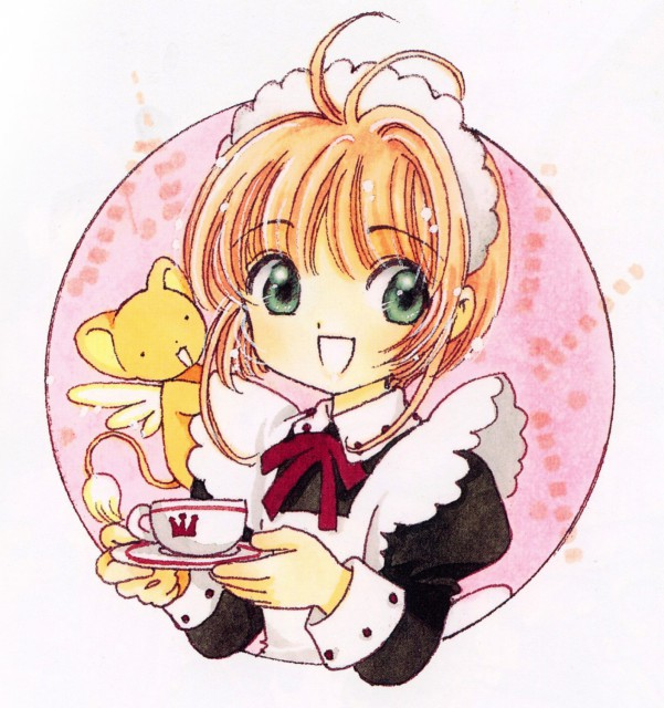 CLAMP, Cardcaptor Sakura, Cardcaptor Sakura Illustrations Collection 3, Sakura Kinomoto, Keroberos