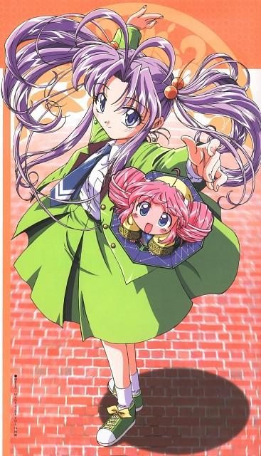 Toei Animation, Mamotte Shugogetten, Rishu, Shaolin Shugogetten, Megami Magazine
