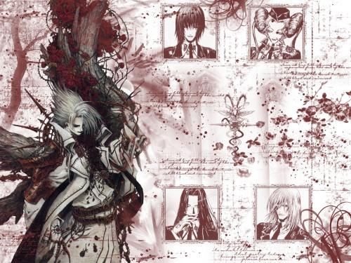 Gonzo, Trinity Blood, Cain Nightroad, Dietrich Von Lohengrin, Helga Von Vogelweide Wallpaper