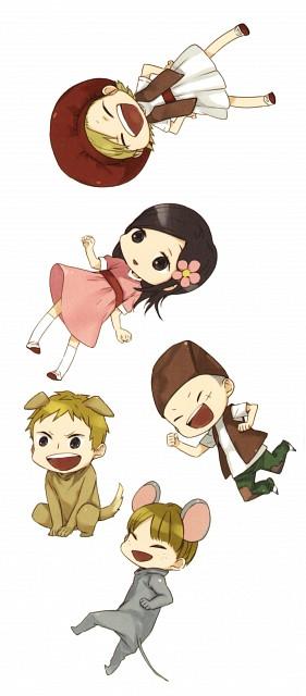 Satsuki Yoshino, Barakamon, Naru Kotoishi, Hina Kubota, Manga Cover