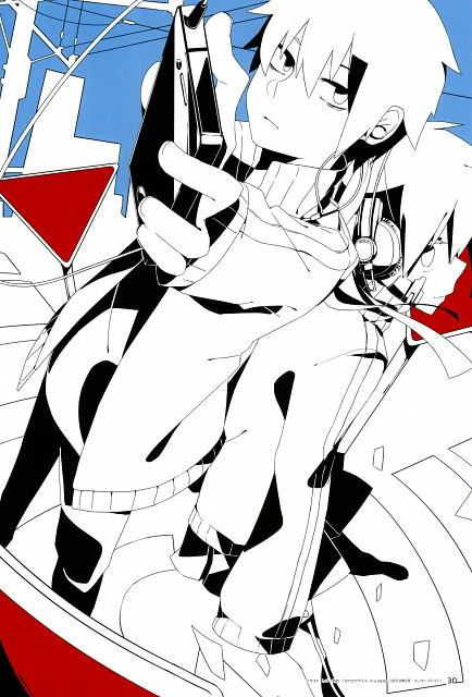 Shidu, Shaft (Studio), Kagerou Days, Kagerou Days Official Visual Fan Book, Shintaro Kisaragi